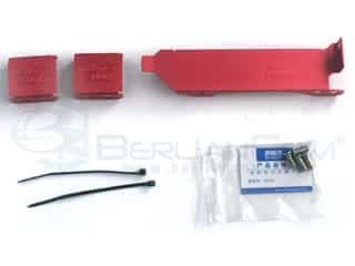 PCCooler B05 PCI Aluminium Fan Holder Red