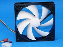 PCCooler F92 90mm Black Fan w/ White Fin