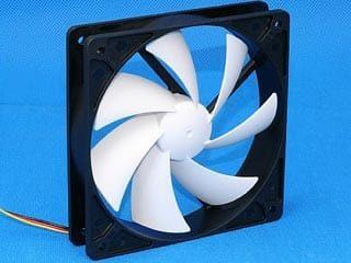 PCCooler F92 90mm Black Fan w/ White Fin