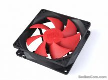 PCCooler F95 90mm Black Fan w/ Red Fin