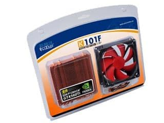 PCCooler K101F Universal VGA Cooler 4 Heatpipe